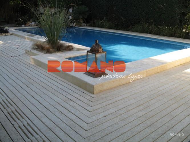 Romano for Bordes de piscinas fotos