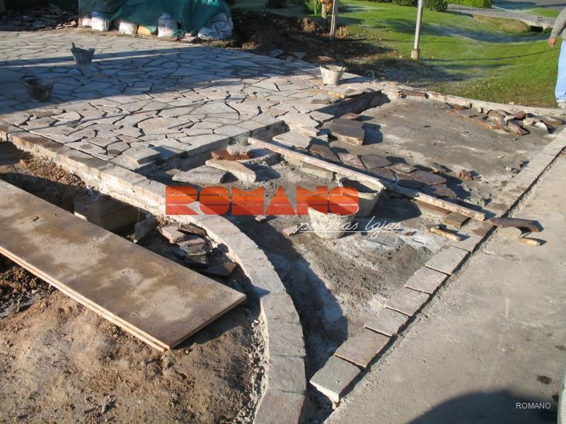 Cómo se colocan « Romano Piedras lajas
